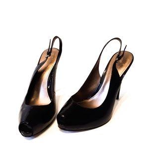 Joan & David Peep Toe Heel